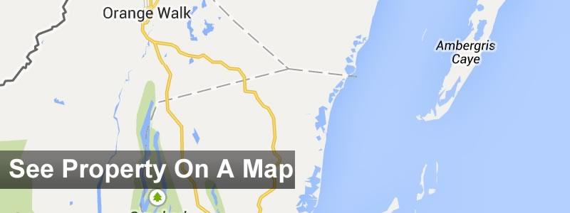 Belize real estate map