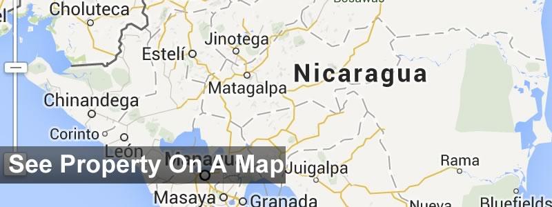Nicaragua real estate map